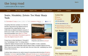 http://www.personal.psu.edu/cpl2/blogs/TheLongRoad/2012/06/sente-mendeley-zotero-too-many.html