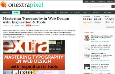 http://www.onextrapixel.com/2010/08/17/mastering-typography-in-web-design-with-inspirations-tools/