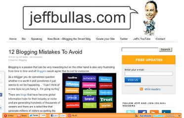 http://www.jeffbullas.com/2010/05/17/12-blogging-mistakes-to-avoid/