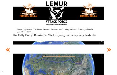 http://lemurattackforce.co.nz/russia-or-we-love-you-you-crazy-crazy-bastards/?utm_source=feedburner&utm_medium=twitter&utm_campaign=Feed%3A+lemurattackforce+%28Lemur+Attack+Force%29