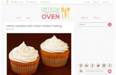 http://www.gimmesomeoven.com/carrot-cupcakes-with-cream-cheese-frosting/