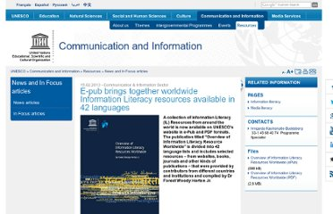 http://www.unesco.org/new/en/communication-and-information/resources/news-and-in-focus-articles/all-news/news/e_pub_brings_together_worldwide_information_literacy_resources_available_in_42_languages/