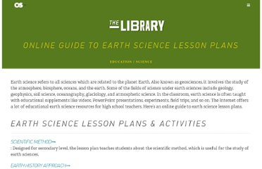 http://www.onlineschools.org/library/earth-science-lesson-plans/