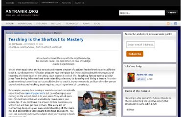 http://antranik.org/teaching-is-the-shortcut-to-mastery/