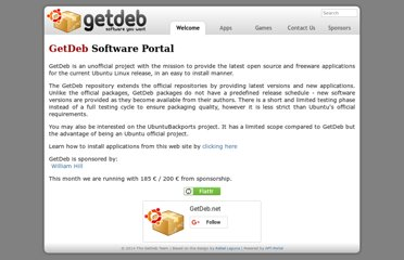 http://www.getdeb.net/welcome/