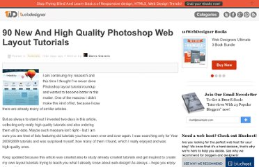 http://www.1stwebdesigner.com/tutorials/90-new-and-high-quality-photoshop-web-layout-tutorials/