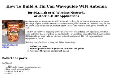 http://www.turnpoint.net/wireless/cantennahowto.html