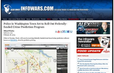 http://www.infowars.com/police-in-washington-town-set-to-roll-out-federally-funded-crime-prediction-program/
