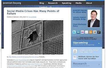 http://www.web-strategist.com/blog/2013/02/19/social-media-crises-has-many-points-of-failure/