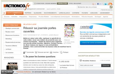 http://www.actionco.fr/Action-Commerciale/Article/Reussir-sa-journee-portes-ouvertes-42463-1.htm