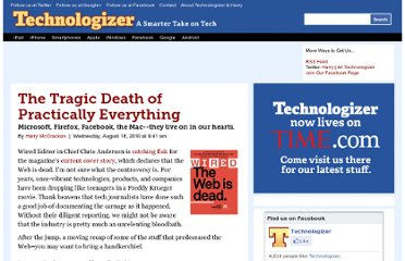 http://technologizer.com/2010/08/18/the-tragic-death-of-practically-everything/