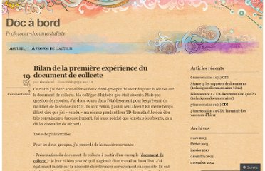 http://docabord.wordpress.com/2013/02/19/bilan-de-la-premiere-experience-du-document-de-collecte/