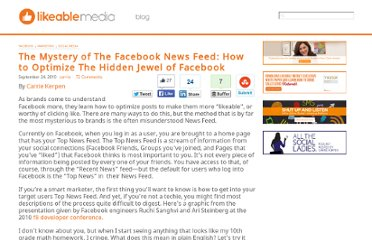 http://www.likeable.com/blog/2010/09/get-engaged-to-facebook-using-their-news-feed/