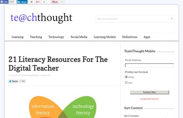 http://www.teachthought.com/featured/21-literacy-resources-for-the-digital-teacher/
