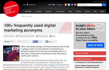 http://econsultancy.com/fr/blog/62179-100-frequently-used-digital-marketing-acronyms