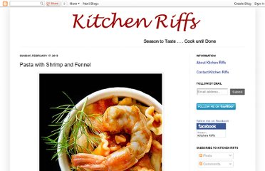 http://www.kitchenriffs.com/2013/02/pasta-with-shrimp-and-fennel.html