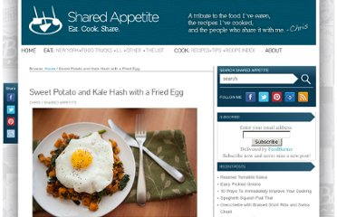 http://sharedappetite.com/sweet-potato-and-kale-hash/