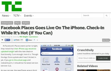 http://techcrunch.com/2010/08/18/facebook-places-iphone-2/