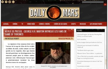 http://www.dailymars.net/george-martin-game-of-thrones/
