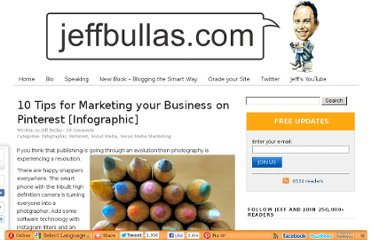 http://www.jeffbullas.com/2012/07/20/10-tips-for-marketing-your-business-on-pinterest-infographic/#