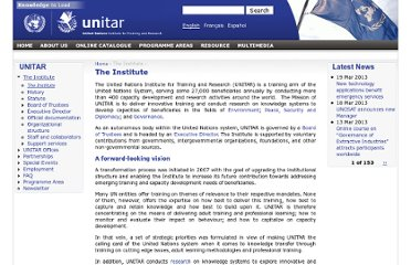 http://www.unitar.org/the-institute
