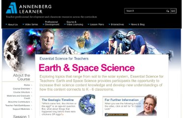 http://www.learner.org/courses/essential/earthspace/index.html