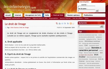 http://www.les-infostrateges.com/article/040920/le-droit-de-l-image