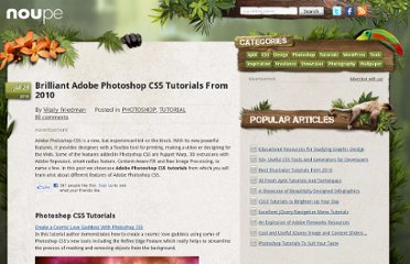 http://www.noupe.com/tutorial/brilliant-adobe-photoshop-cs5-tutorials-from-2010.html