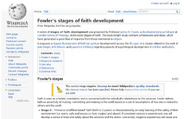 http://en.wikipedia.org/wiki/Fowler%27s_stages_of_faith_development