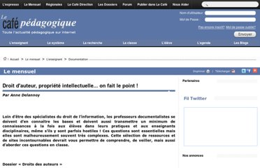 http://www.cafepedagogique.net/lemensuel/lenseignant/documentation/Pages/2013/140_CDI_Droits.aspx