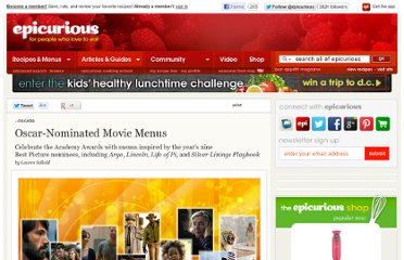 http://www.epicurious.com/articlesguides/holidays/oscars/best-picture-menus-13