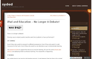 http://dedwards.me/2012/07/16/ipad-and-education-no-longer-a-debate/