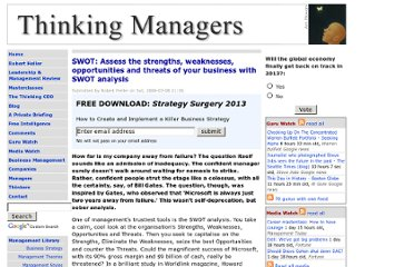 http://www.thinkingmanagers.com/management/strengths-weaknesses.php