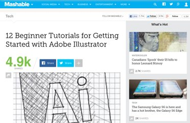 http://mashable.com/2010/08/19/adobe-illustrator-tutorials/