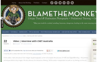 http://www.blamethemonkey.com/video-interview-hdr-digital-blendin-cnet-australia
