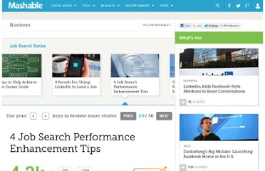 http://mashable.com/2013/02/23/job-search-tips/