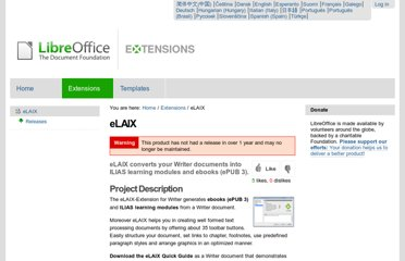 http://extensions.libreoffice.org/extension-center/elaix
