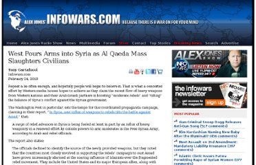 http://www.infowars.com/west-pours-arms-into-syria-as-al-qaeda-mass-slaughters-civilians/