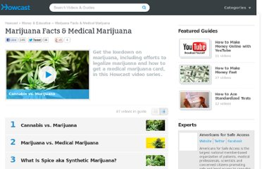 http://www.howcast.com/guides/956-Marijuana-Facts-and-Medical-Marijuana