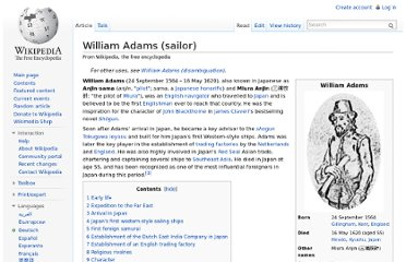 http://en.wikipedia.org/wiki/William_Adams_(sailor)