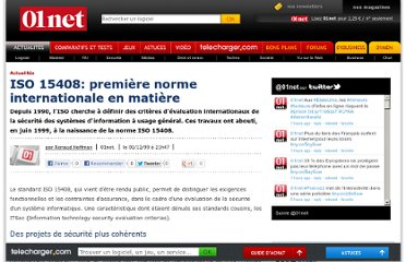 http://www.01net.com/editorial/91631/iso-15408-premiere-norme-internationale-en-matiere/