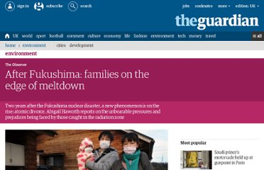 http://www.guardian.co.uk/environment/2013/feb/24/divorce-after-fukushima-nuclear-disaster