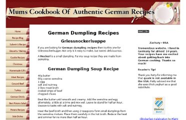 http://www.tasty-german-recipe.com/German-dumpling-recipes.html