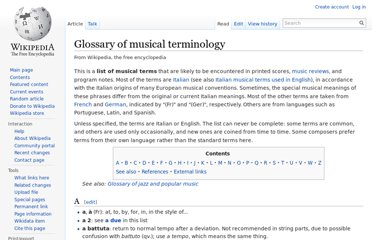 http://en.wikipedia.org/wiki/Glossary_of_musical_terminology