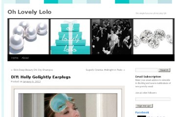 http://ohlovelylolo.wordpress.com/2012/01/09/diy-holly-golightly-ear-plugs/