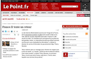 http://www.lepoint.fr/high-tech-internet/france-fr-tente-un-retour-16-08-2010-1225568_47.php