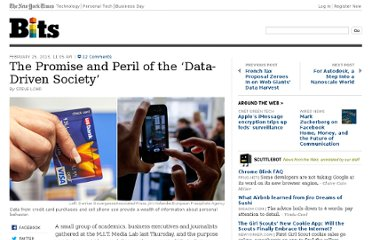 http://bits.blogs.nytimes.com/2013/02/25/the-promise-and-peril-of-the-data-driven-society/