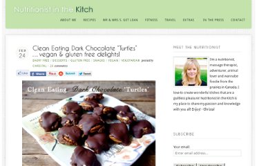http://www.nutritionistinthekitch.com/2013/02/24/clean-eating-dark-chocolate-turtles-vegan-gluten-free-delights/