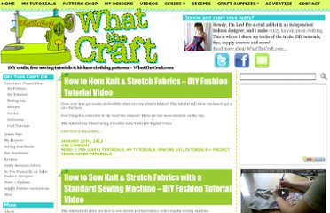 http://whatthecraft.com/category/tutorials-project-ideas/sewing-101/