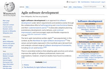 https://en.wikipedia.org/wiki/Agile_software_development